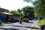 Pengendara Di Banyuwangi Nekat Tabrak Polisi Lalulintas Saat Razia