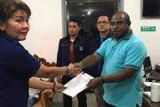 Imanuel Piter Urbinas Ditetapkan Sebagai PLT Ketua DPD Partai NasDem Raja Ampat