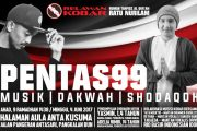 Re-Kobar Gelar Dakwah & Irama Bersama Artis Top Indonesia