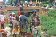 Pasukan Garuda Bersihkan Sungai di Afrika Tengah