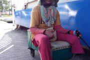 Alwi Terpaksa Mengemis  Karena Cacat Fisik