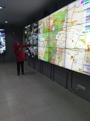 Tingkatkan Pelayanan Publik, Command Center Surabaya Lakukan Simulasi