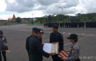 Batalyon D Resimen III Pelopor Kelapa Dua Terima Penghargaan Dari Kapolda PB