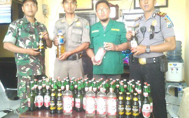 Jelang Ramadhan, Forkopinka Kecamatan Jabon Gelar Razia