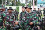 TMMD Di Tutup, Prajurit Yonif 115/ML Kembali Ke Induk Pasukan