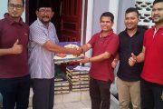 Telkomsel Lhokseumawe Sumbang Penganan Buka Puasa Masjid Besar Peusangan