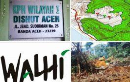 Buka Jalan Kebun,KPH Wilayah I Aceh Turun Tim