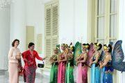 Ibu Negara Iriana Kenalkan Seni Budaya Indonesia Pada Ratu Swedia Silvia