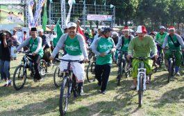 Gus Ipul Ajak Masyarakat  Bersepeda