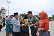 Pangdam Iskandar Muda Sambut Kedatangan Wakil Presiden