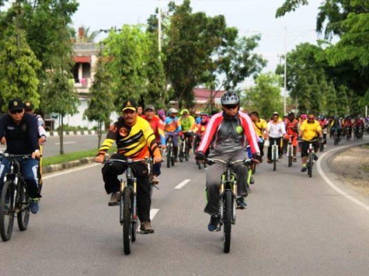 Gowes Kontingen Pesona Nusantara 2017 Masih di Aceh
