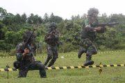 Tingkatkan Kemampuan,Batalyon Zipur 16 Gelar Latihan UST