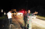 Batu Gajah Tutup Jalan lintas Banda Aceh – Meulanoh