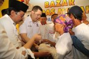 Partai Perindo Gelar Bazar Murah di Probolinggo