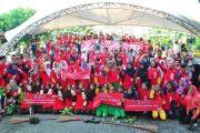 Rayakan Tahun Ke-25 Beroperasi di Indonesia, CCAI Bersih-Bersih Di 7 Kota