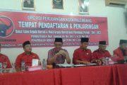 PDI P Kota Palembang Buka Pendaftaran Paslon Wali Wawali