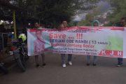 Komunitas Jurnalis Halsel Galang Dana Untuk Fitriani