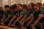 Divisi Infanteri 1 Kostrad Gelar Peringatan Isra dan Mi'raj Nabi Muhammad SAW