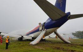 Bandara Rendani Masih Ditutup Menunggu Evakuasi Badan Pesawat