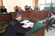 Mantan WIL Waket DPRD Kabupaten Madiun Dituntut Dua Bulan Penjara
