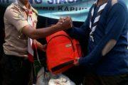 Pramuka Bantu Korban Kebakaran Kapuk Muara