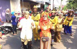 Memperingati Hut Kota Surabaya, Kecamatan jambangan Gelar Jambangan Recyle Carnival