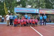 Kapolresta Probolinggo Buka Turnamen  Bola Volly