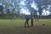Bulan Puasa Bukan Penghalang Prajurit 511/DY Untuk Tetap Berlatih Menembak