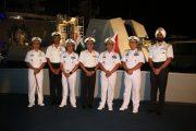 Pangarmatim Hadiri Cocktail Party Diatas Kapal Perang india