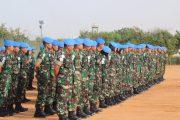 Pasukan Garuda di Sudan Peringati Hari Lahirnya Pancasila