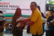PG Salurkan Sembako Murah Dan Gratis Senilai 1,4 Milyar