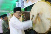 Gubernur bersama Forkopimda Jatim Shalat Ied di  Masjid Akbar Surabaya