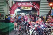 LCC Mojokerto Night Riding 2017 Meriahkan Hari Jadi Kota Mojokerto