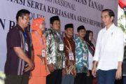 Presiden Jokowi Serahkan 2.500 Sertifikat Kepada Warga Jateng