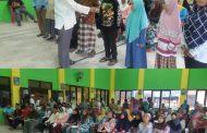 Ketua DPC Hanura Jombang Beri Santunan Masyarakat Sekitar
