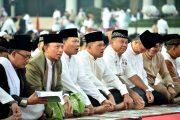 Mabes TNI Gelar Sholat Idul Fitri di Cilangkap