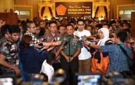 Panglima TNI : TNI Dengan Masyarakat Akan Gelar Doa Bersama 17 17 17