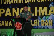 Panglima TNI : TNI Tetap Bersatu Dengan Rakyat dan Ulama Demi Keselamatan Negara