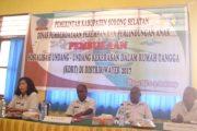 Pemda Sorsel Sosialisasikan UU Penghapusan KDRT di Wayer
