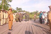 Masyarakat Kokoda Sambut  Bupati Sorsel Saat Melakukan Safari Ramadhan.