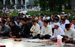 Sholat Id, Risma Harapkan Persatuan Antar Umat Beragama