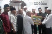 Tingkatkan Silaturahmi,Tim IX Safari Ramadhan Menyambangi Masjid Baiturahman Seipispis