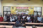 Puluhan Media Online Ikuti Workshop SMSI Jatim