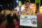 Bupati Aceh Selatan Tutup MTQ Tunas Pramuka 2017