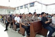 Kapolda Kalteng Kunjungi Gereja Katredal