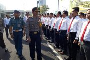 Amankan Wilayah, Polres Tanjung Perak Surabaya Terjunkan 450 Personil