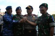 Kasarmatim Hadiri Apel Gelar Pasukan Operasi Ramadniya 2017