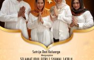 Keluarga Besar Sutrija Sampaikan Ucapan Idul Fitri 1438 H