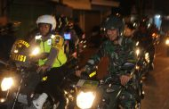 Malam Idul Fitri on The Street Forpimda Kediri
