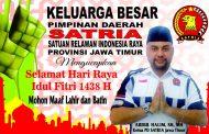 Pengurus Daerah SATRIA Jatim Berikan Ucapan Idul Fitri
